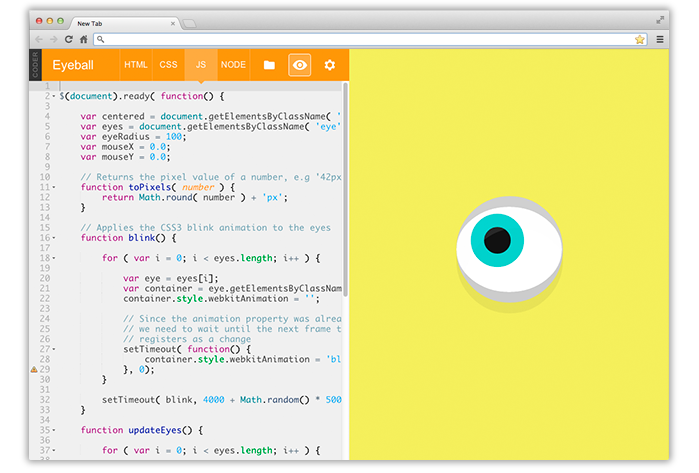 Coder starter app