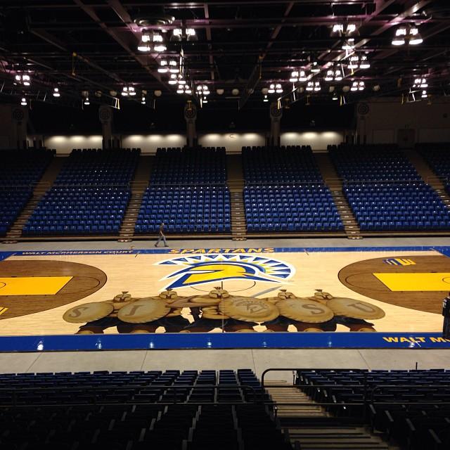 San Jose State puts SPARTAAAAAAANS on basketball court ...
