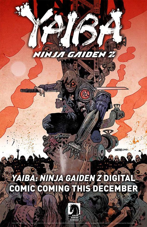 Dark-horse---yaiba-ninja-gaiden-z-teaser-image