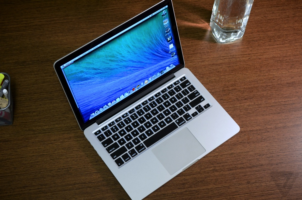 13 inch macbook pro with retina display review 2013 the verge. Black Bedroom Furniture Sets. Home Design Ideas