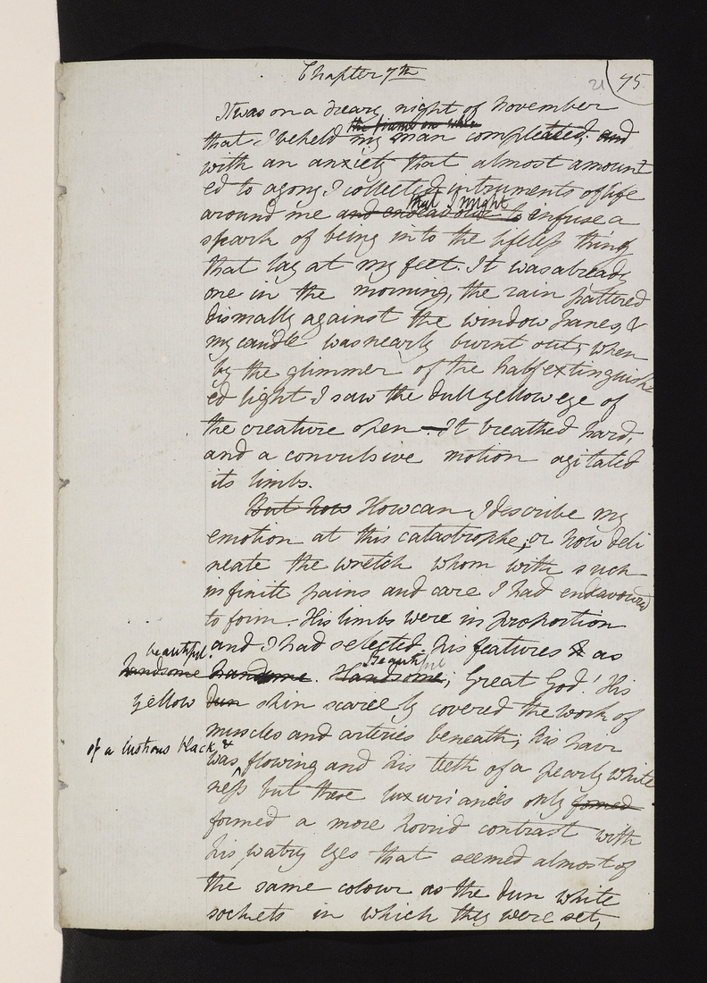 Frankensteinmanuscript