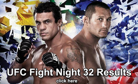 UFC Fight Night 32 Results