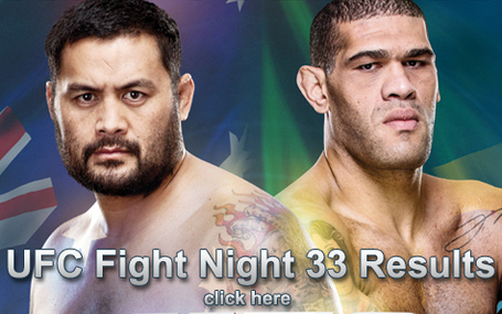UFC Fight Night 33 Results