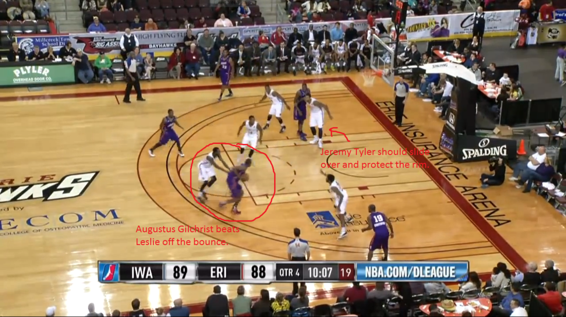 ag. nba 3 point line vs college