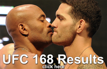 UFC 168 Results