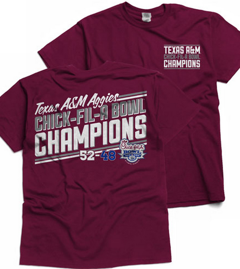 Chick-fil-A Bowl shirt