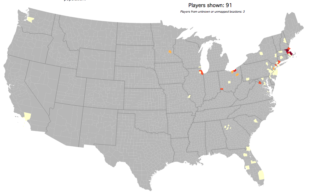 Where Do Boston College Football Players Come From? - BC Interruption