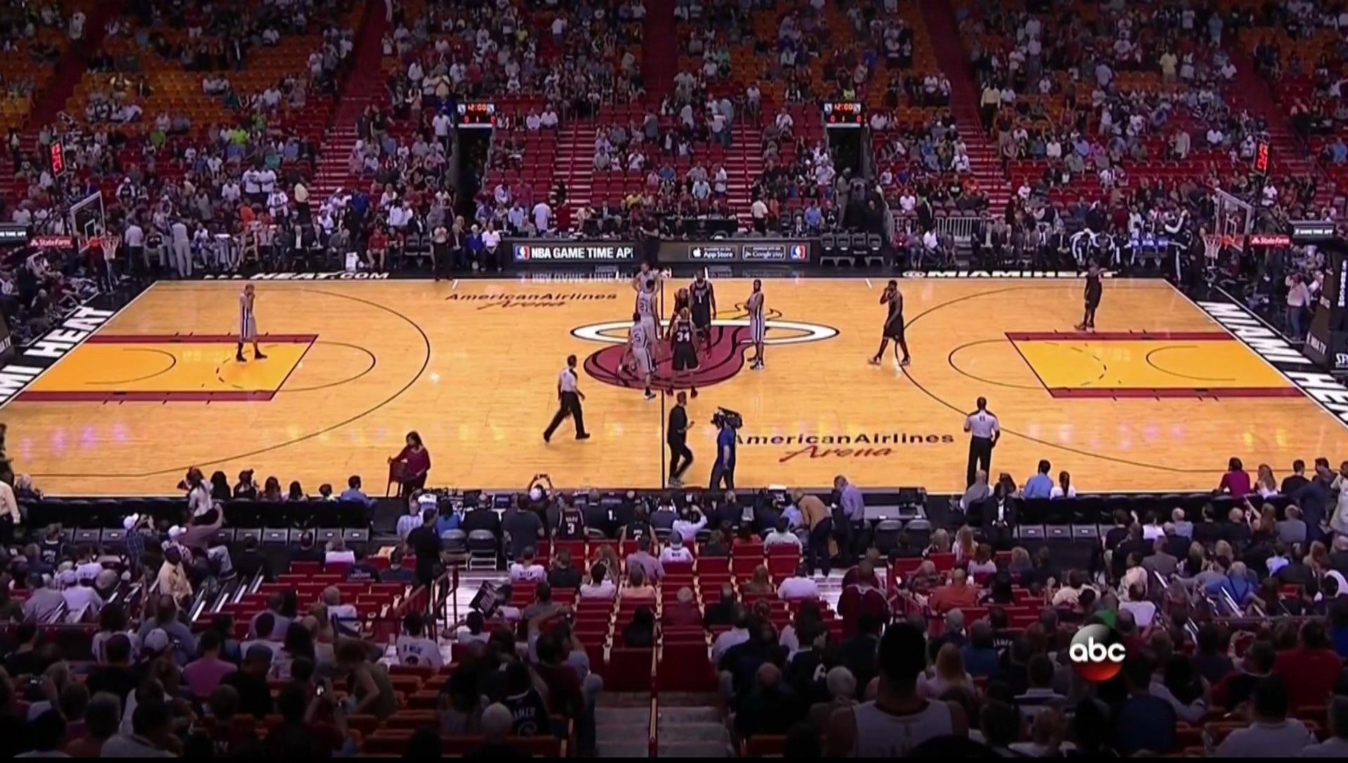 Miami Heat fans aren't ready for early games yet ...