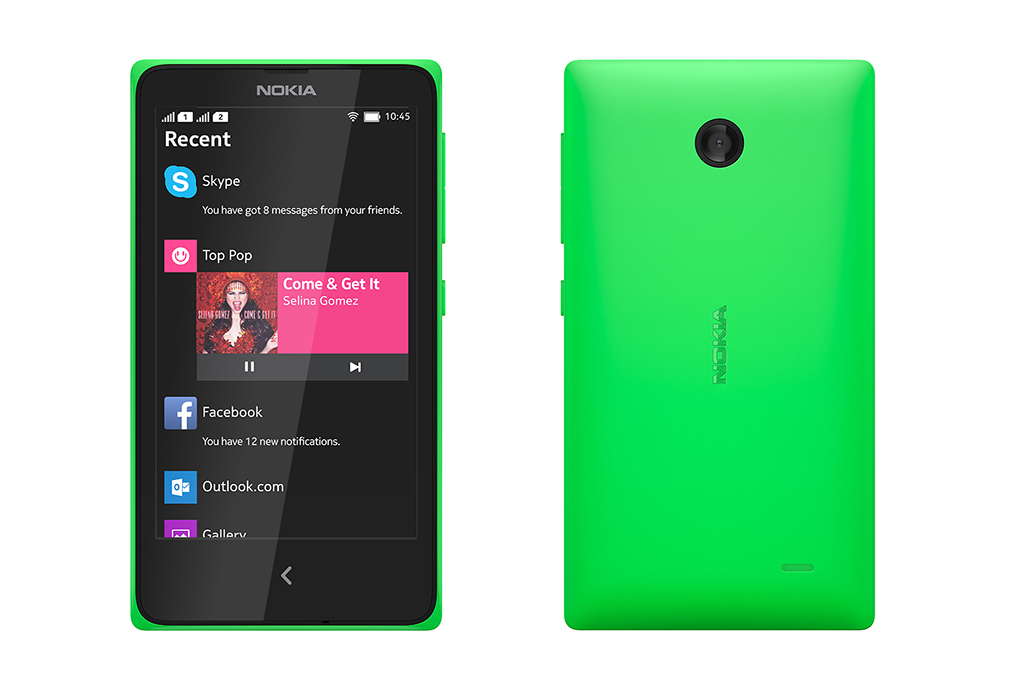 Nokia X Phone Specification