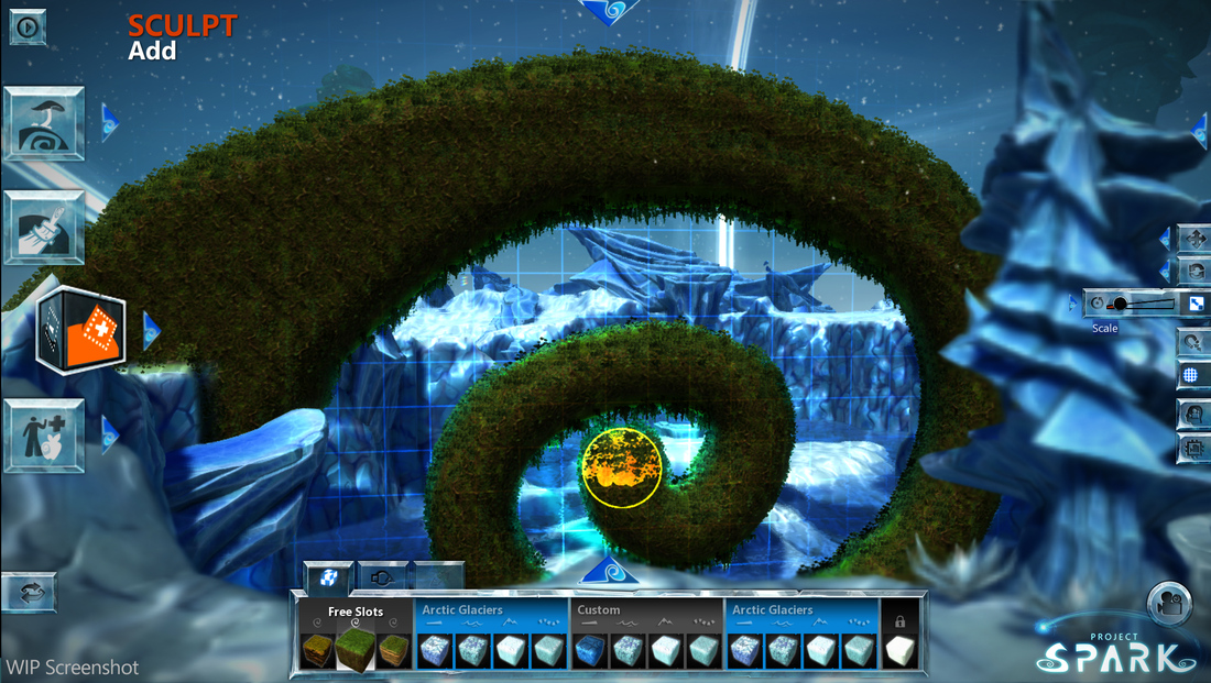 project spark how to fly