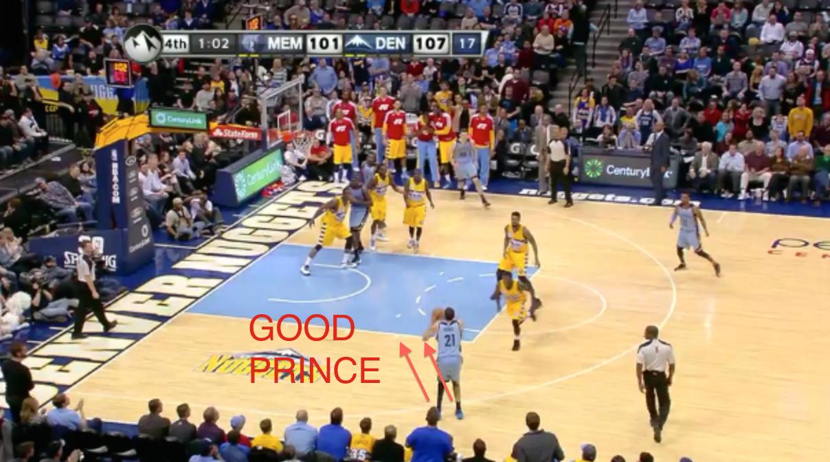Memphis Grizzlies Jump Shot Scrutinization Series Tayshaun Prince