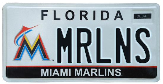 1976 Florida license plate issued in St. Johns County as noted by 20 prefix  1976 Florida license plate issued in Hamilton County as noted by 56 prefix