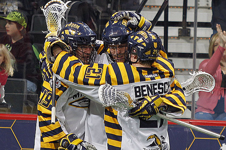 Ryan Benesch helped the Swarm accomplish a big goal in bringing a playoff game to Saint Paul.