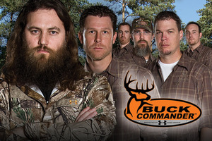 Willie Robertson (deer fear his beard) leads the Buck Commander team