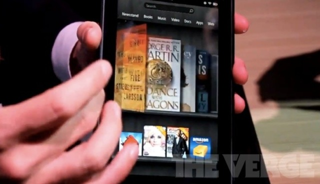 Kindle Fire UI