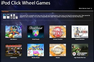 iPod Click Wheel Games
