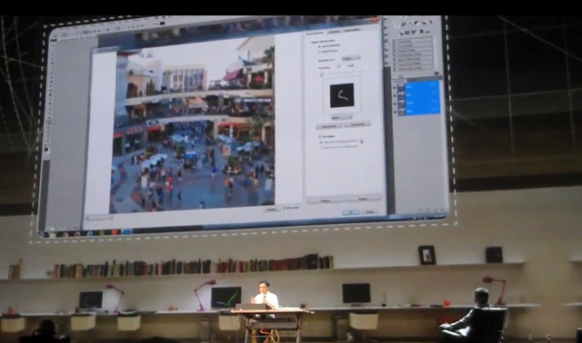 Image Deblurring at Adobe MAX 2011