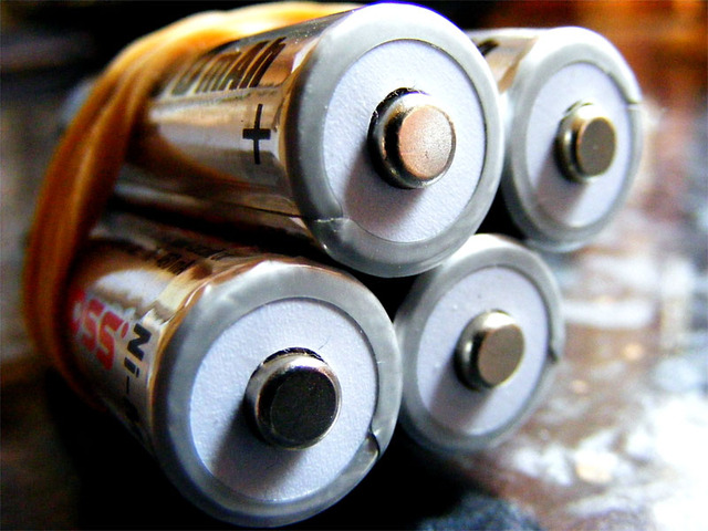 Batteries, from scalespeeder (flickr)