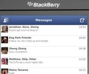 Facebook Messenger for BlackBerry