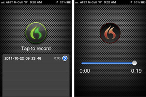 Nuance Dragon Recorder for iOS