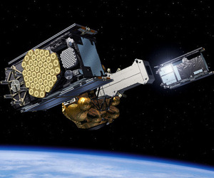 Galileo European satellite