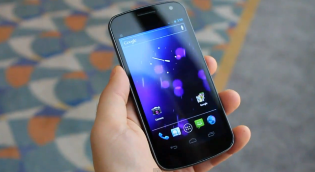 Galaxy Nexus preview