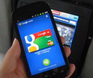 Google Wallet taxicab demo