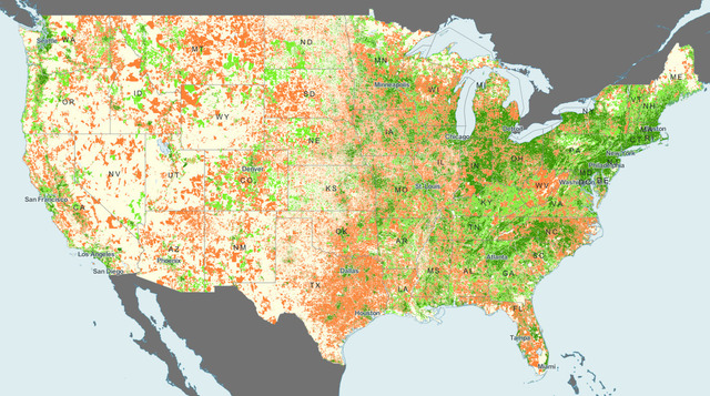 FCC broadband map