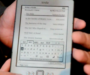 Kindle Classic hands-on