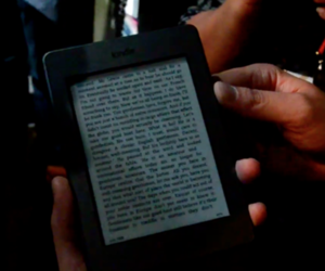 Kindle Touch first hands-on
