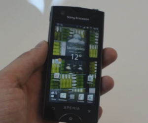Xperia Ray hands-on