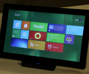 Windows 8 Tablet Developer Preview 1080p