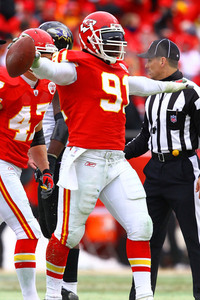Kansas City Chiefs linebacker Tamba Hali could prove to be a tough match up for a struggling Jake Long.