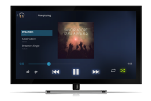 Google Music Google TV 1600