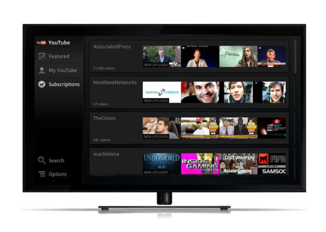 Google TV YouTube Update