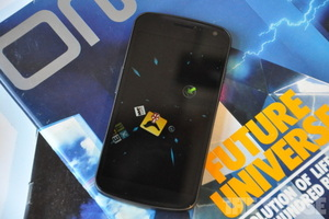 Android ICS 4.0 Star Wars hyperspeed Rocket Launcher