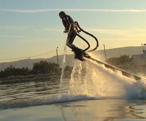 Flyboard Water-Powered Platform