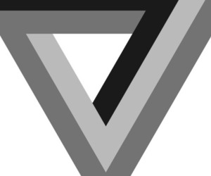 The Verge logo (black)