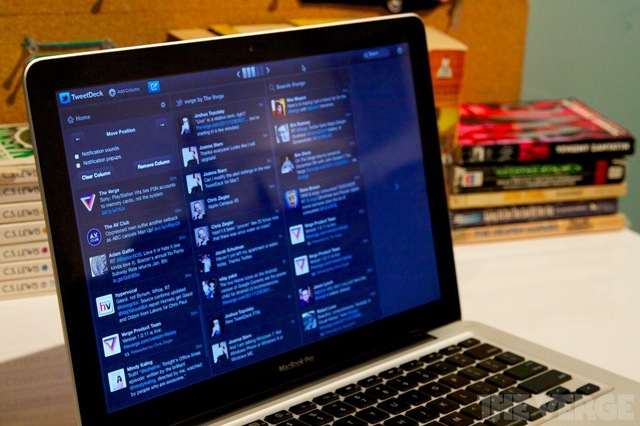 TweetDeck MacBook Pro