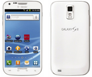 T-Mobile white Samsung Galaxy S II