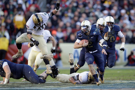 Army-Navy Game 2011: Navy Hangs On For 27-21 Victory - SB Nation DC