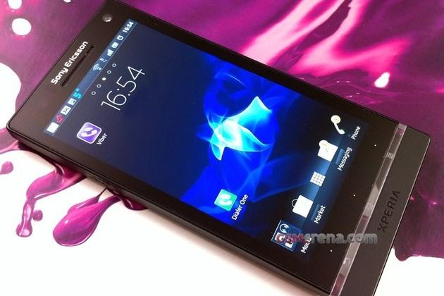 Sony Ericsson Nozomi GSM Arena leak (front)