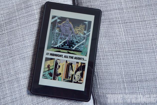 Kindle Fire Graphic Novel Watchmen