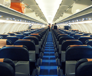 Empty Airplane Seats