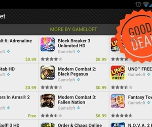 Android Market gameloft