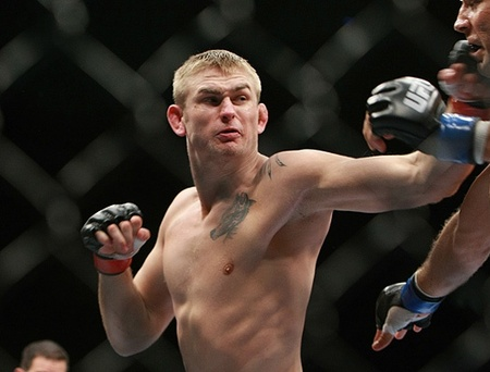 Alexander Gustafsson defeated Vladimir Matyushenko tonight by way of technical knockout in the very first round at UFC 141.