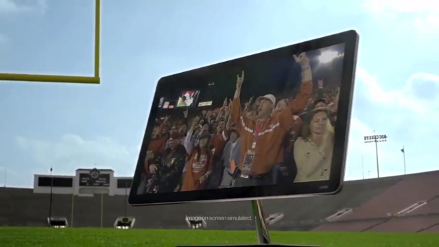 Vizio 2012 Rose Bowl Commercial