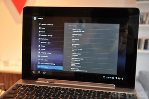 Asus Transformer Prime updated firmware