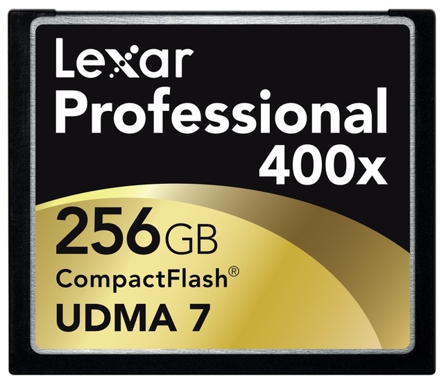 Lexar 256GB CF