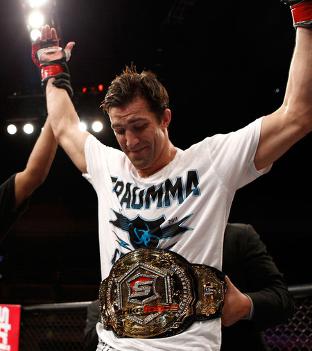 What does the future hold for Strikeforce Middleweight Champion Luke Rockhold following his win over Keith Jardine last night (Sat., Jan. 7, 2012) at the Hard Rock Hotel and Casino in Las Vegas, Nevada?